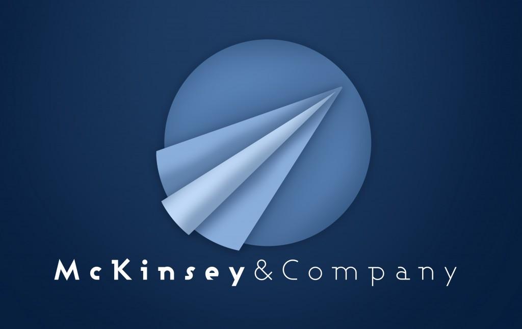 McKinsey branding study - paper plane