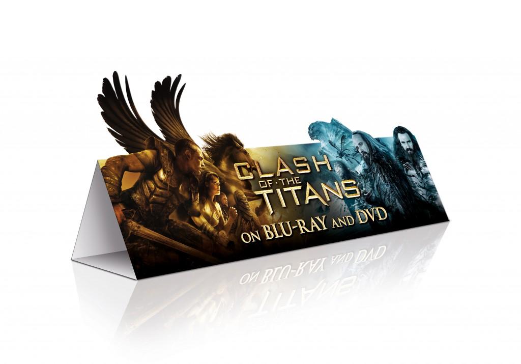 """""""Clash of the Titans"""" POS visuals"""