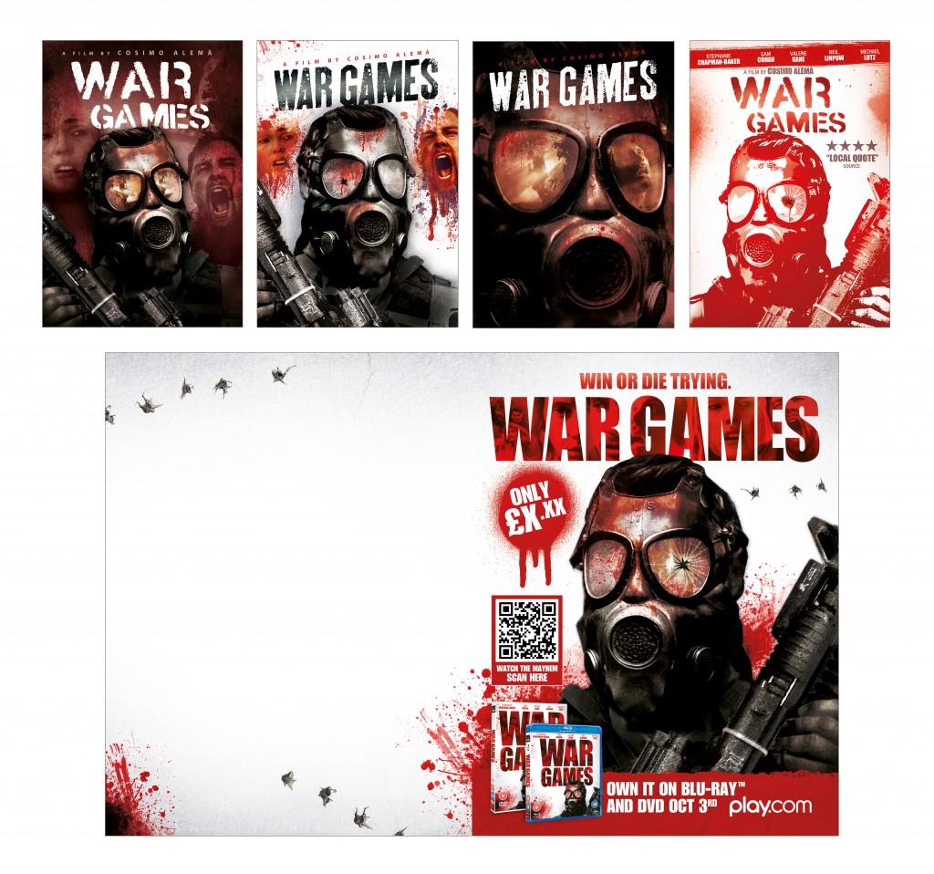War Games visuals