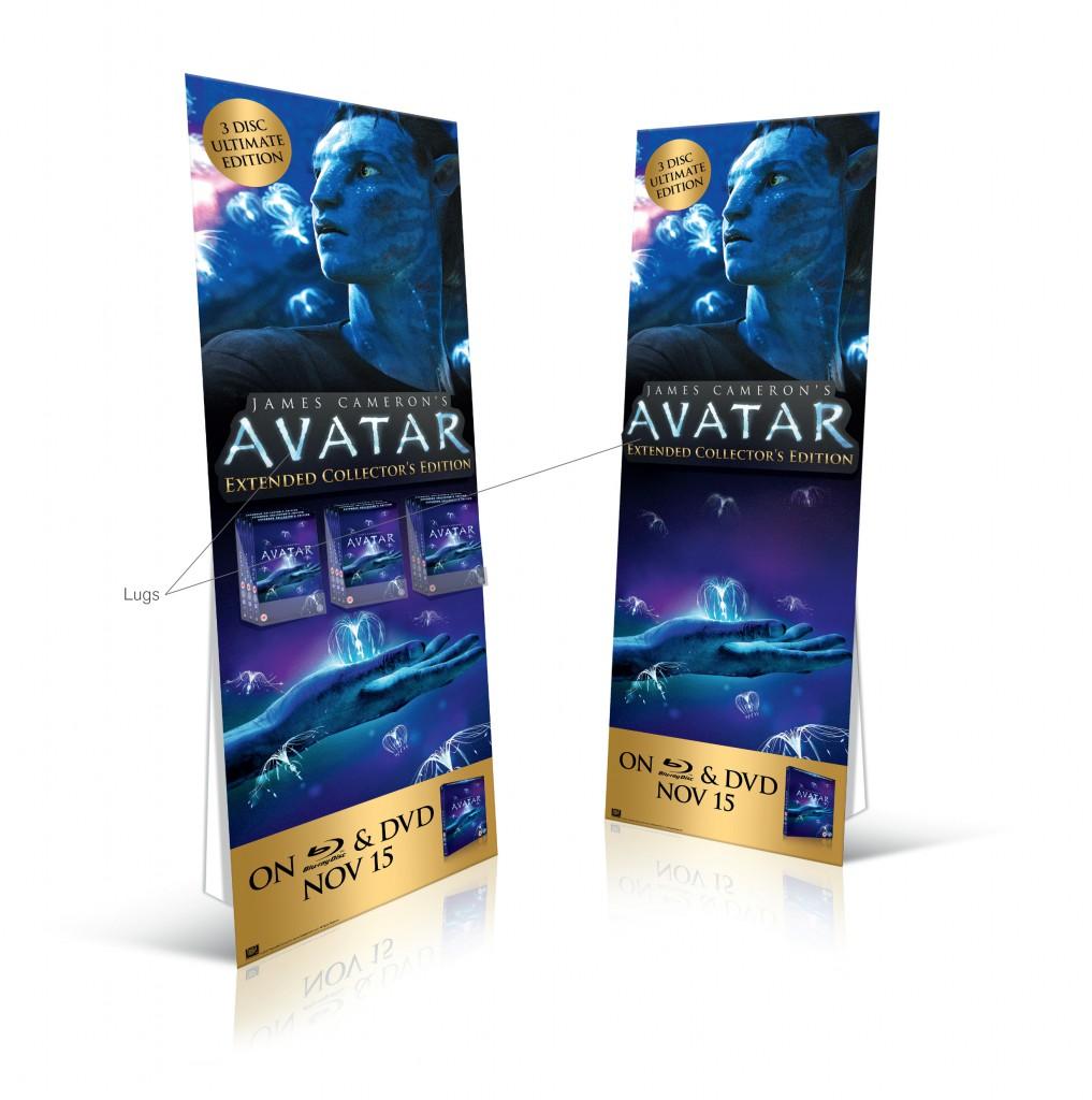 """""""Avatar"""" reissue standee/stockee"""