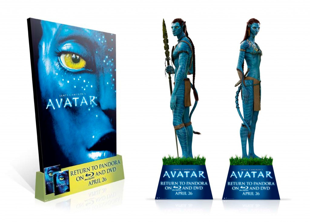 """Avatar"" standees"