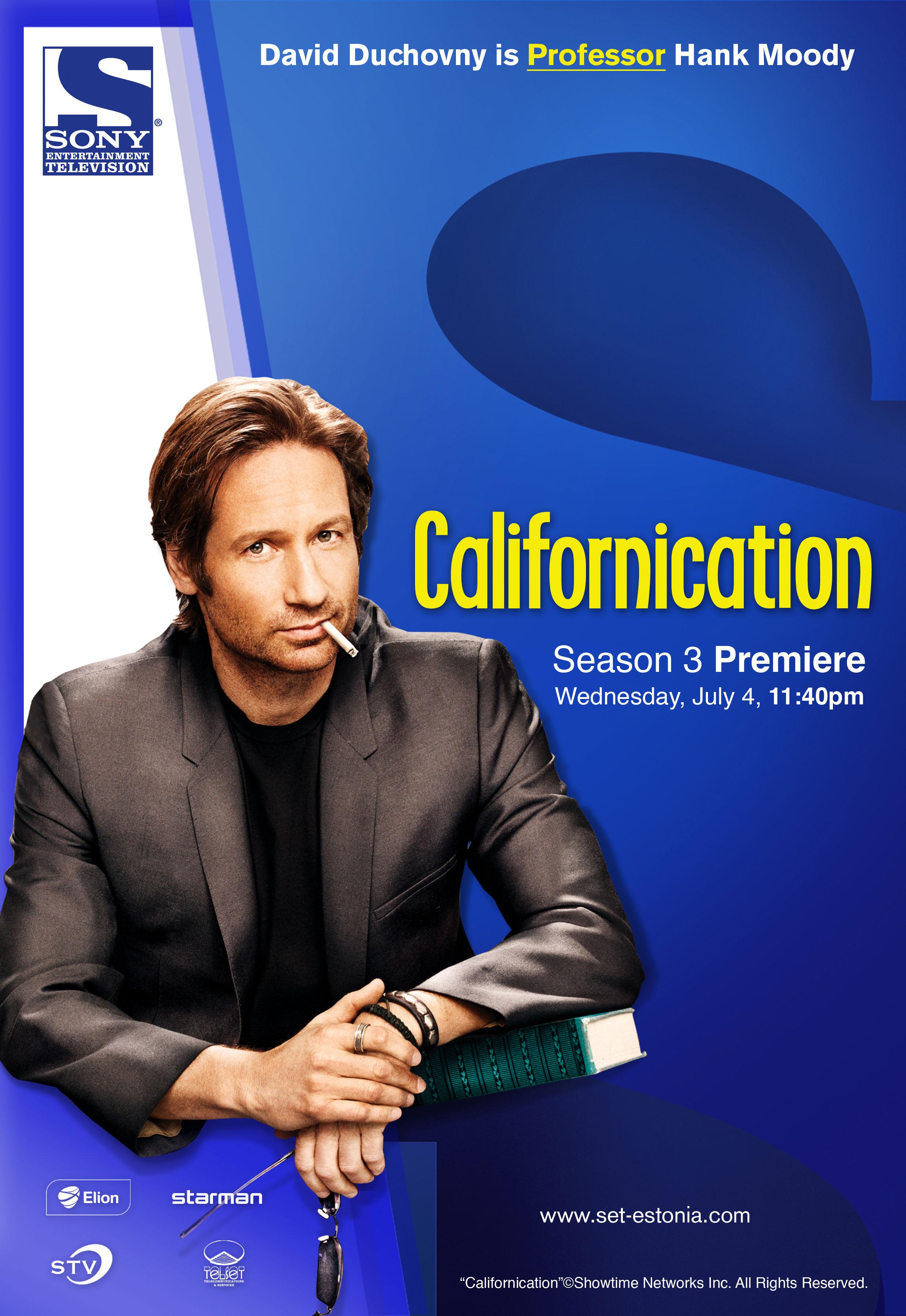 """Californication"" press ad visuals"