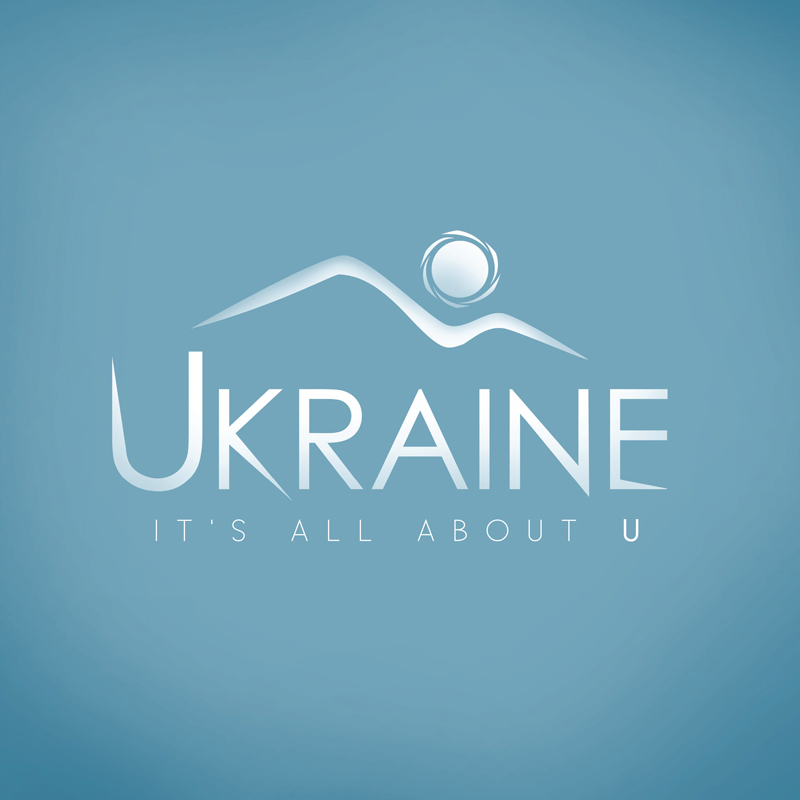 """Ukraine - It's All About You"" logo study"