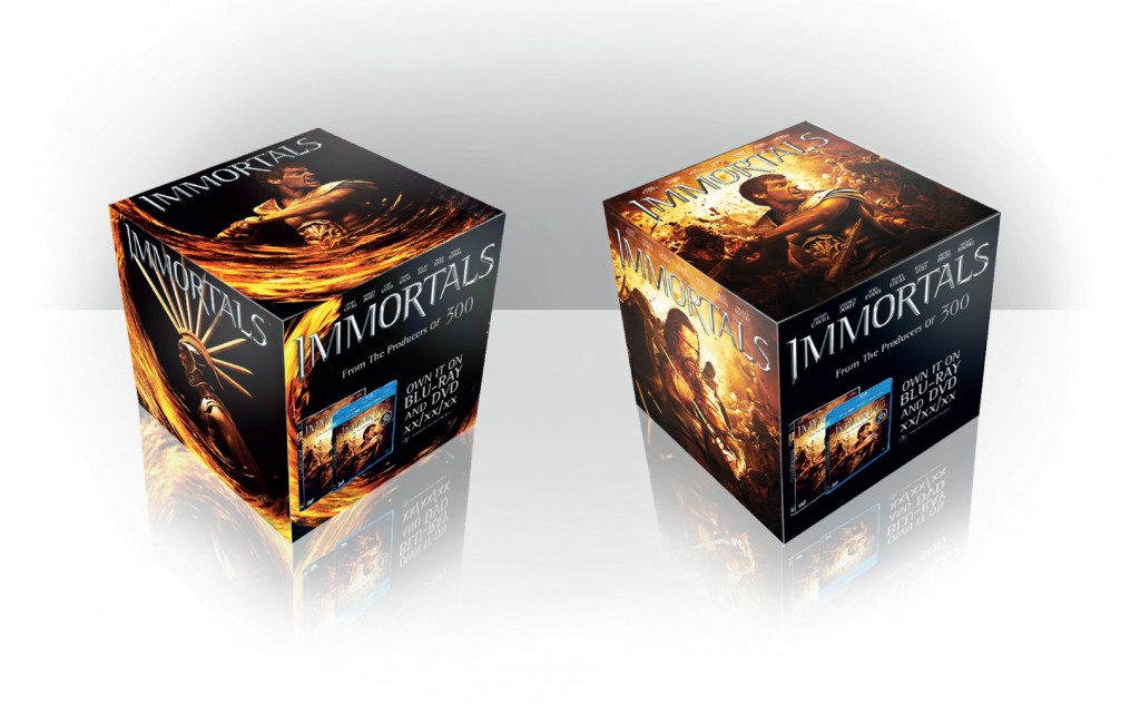 """immortals"" cube"
