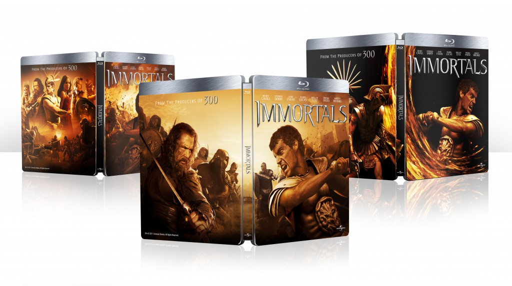 Steelbook visuals