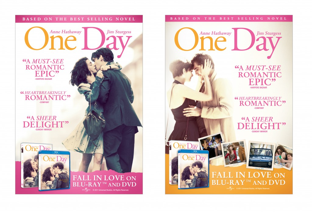 """""""One Day"""" sleeve designs and advertising campaign"""