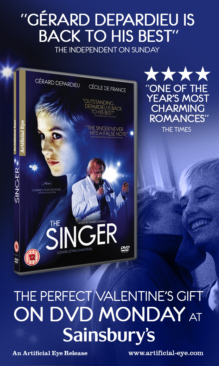 The Singer press ad