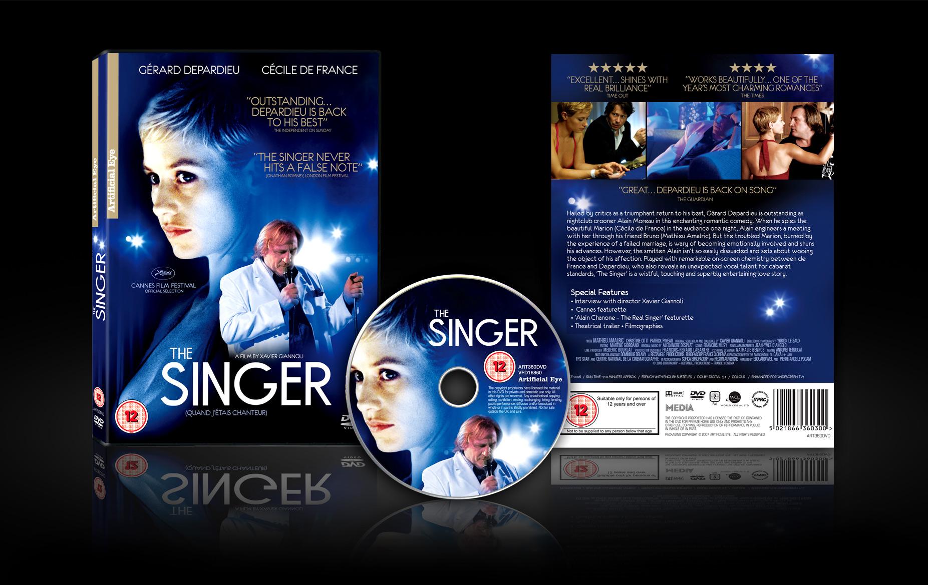 The Singer DVD