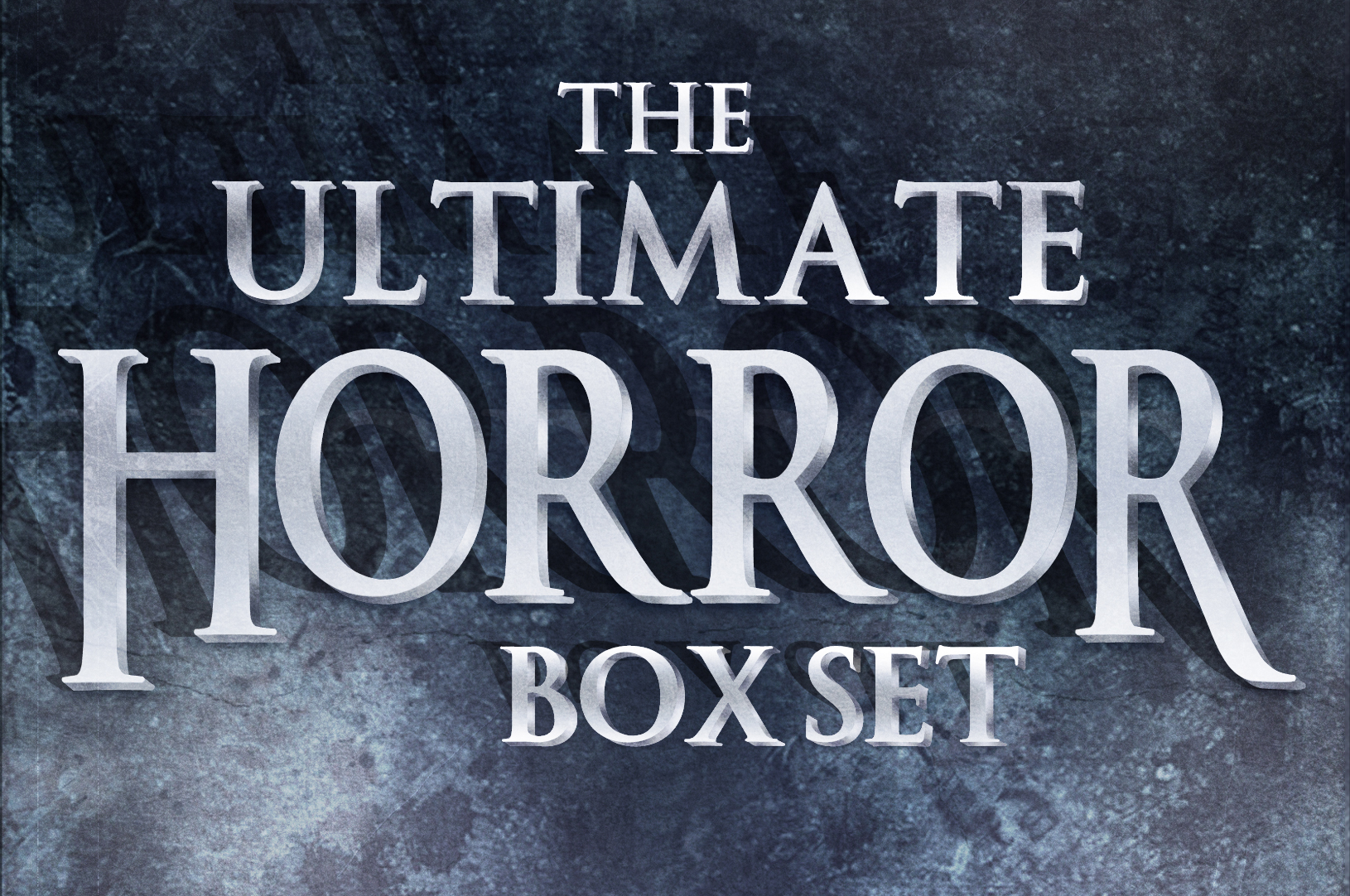 Universal Horror Title Treatment