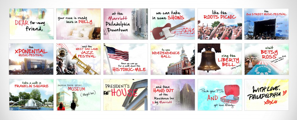 """With Love, Philadelphia"" storyboards"