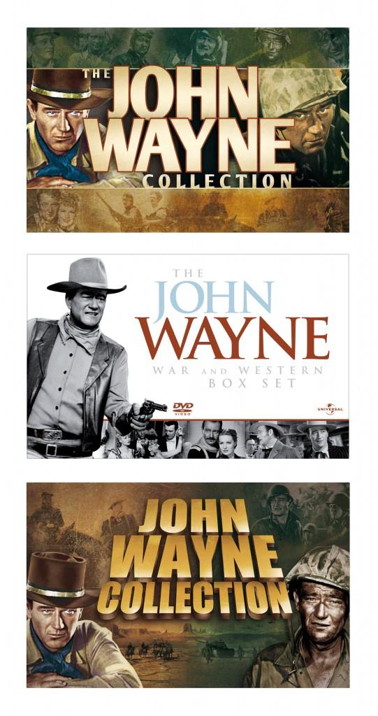 """""""John Wayne Box Set"""" visuals"""