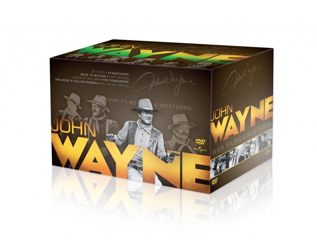 """""""John Wayne Box Set"""" visual 3D"""
