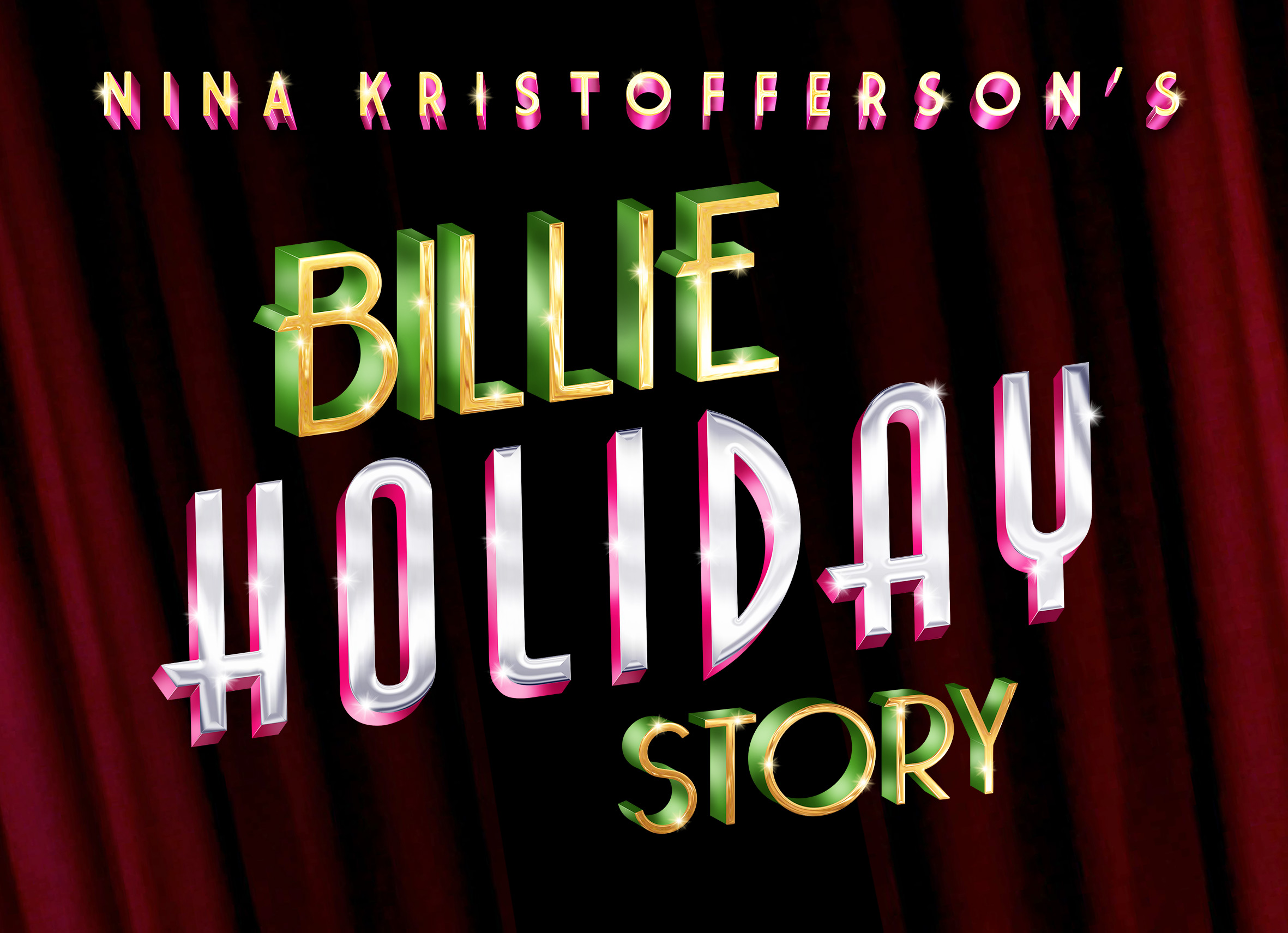 Billie Holiday Story title treatment