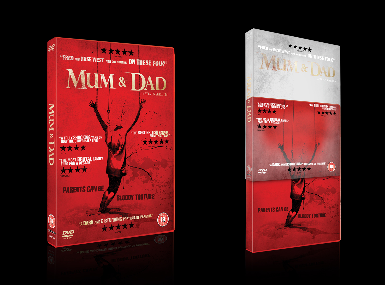 Mum & Dad DVD 3D visual