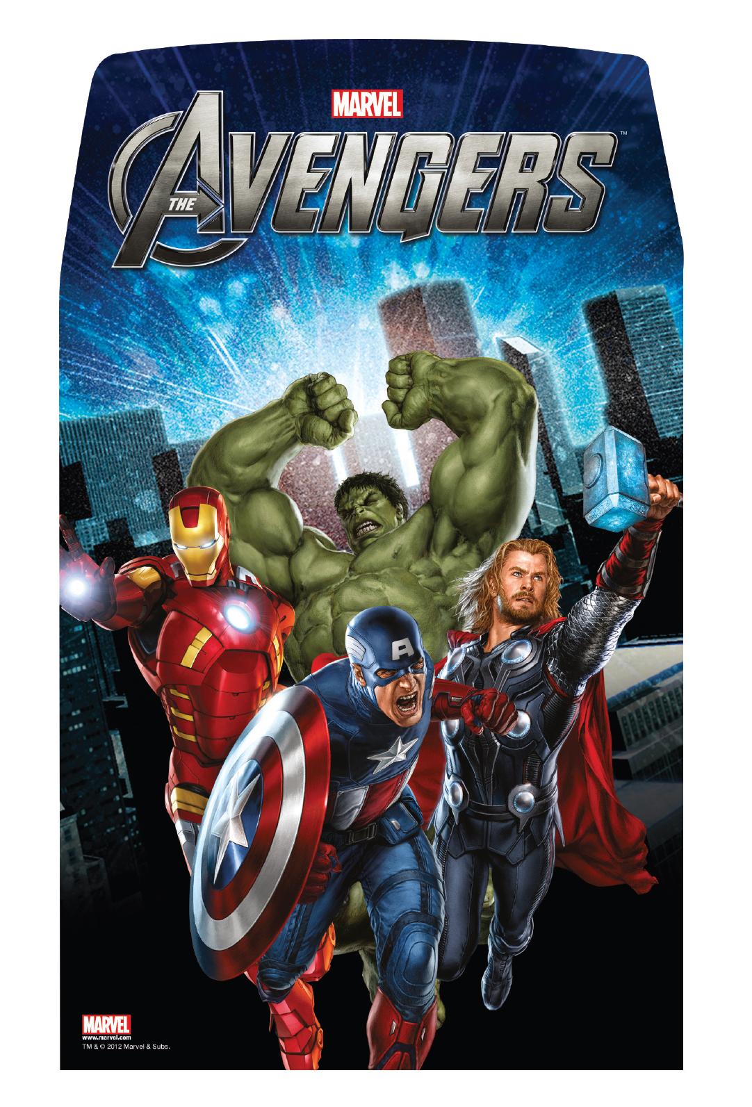 The Avengers - Half Pallet Back