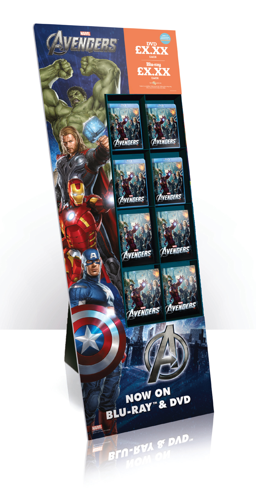 The Avengers - 8 Pocket FSDU
