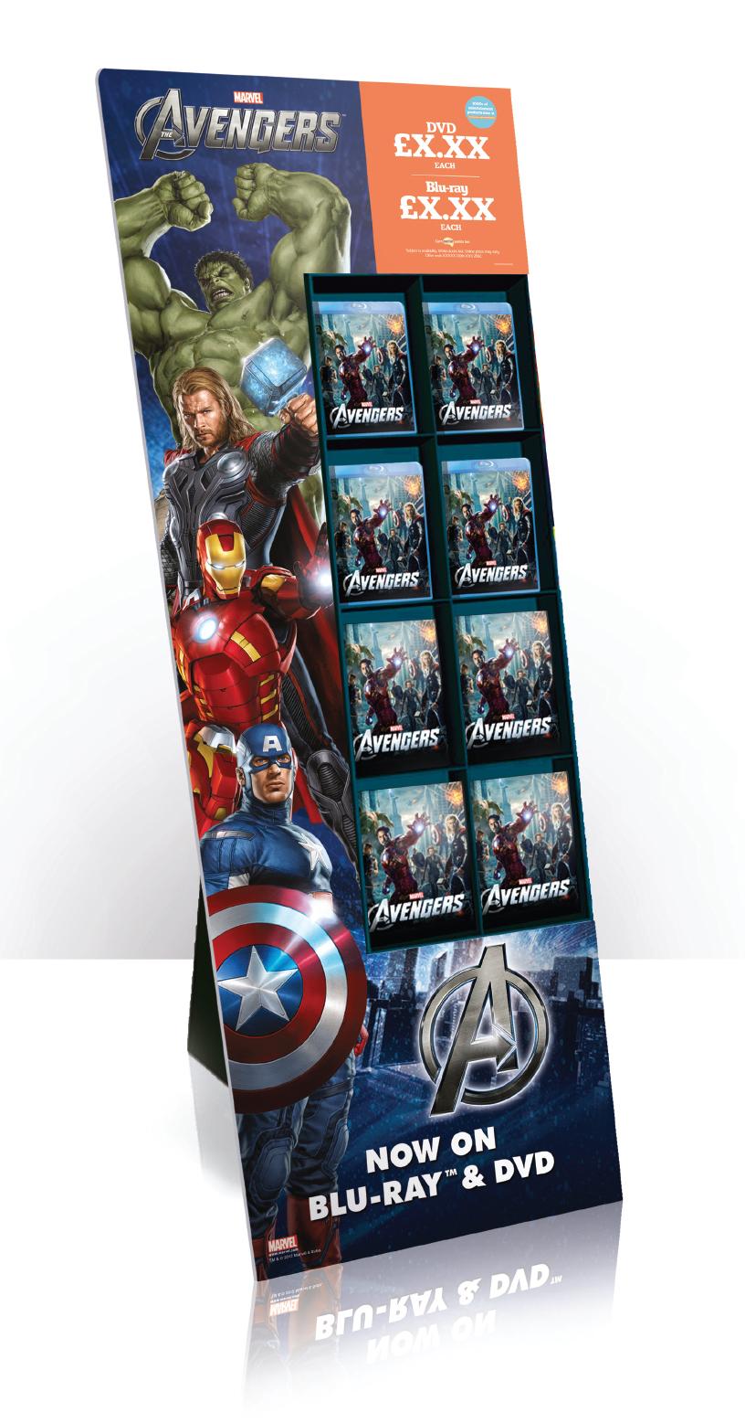 The Avengers - 8 Pocket FSDU
