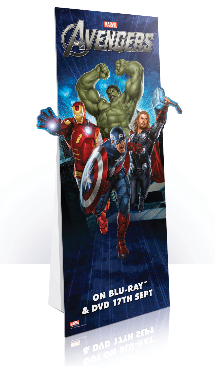 The Avengers - Standee Route A