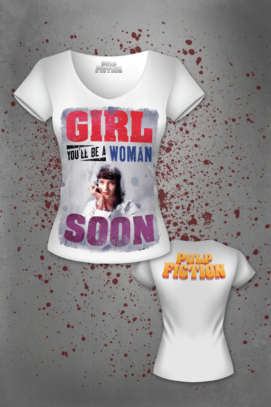 Girl, You'll Be A Woman Soon - t-shirt
