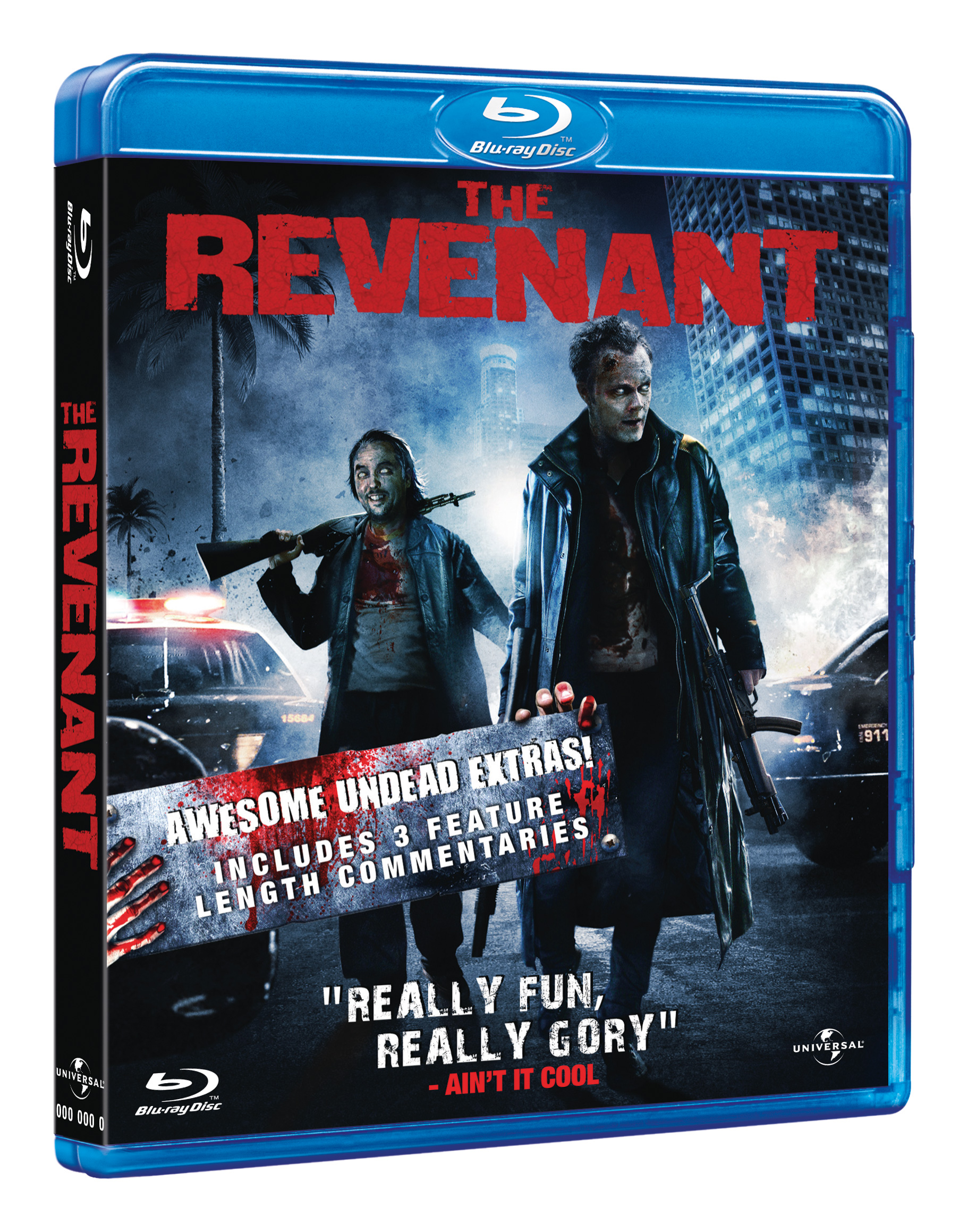 The Revenant 3D Blu-Ray